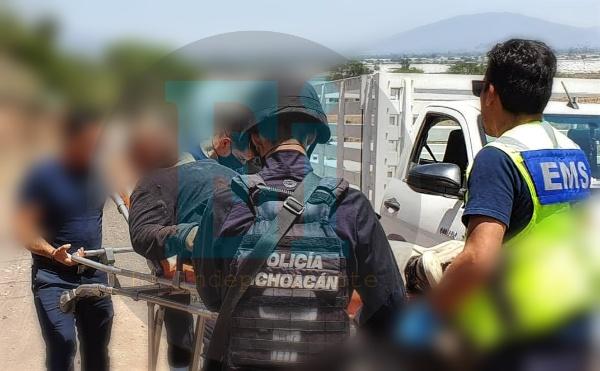 Trabajador agrícola es amarrado, golpeado y baleado