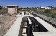 Más del 80% de avance en construcción del cárcamo de rebombeo en el Camino al Jericó