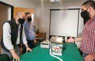 Presentan alumnos egresados de ITSU un prototipo de respirador artificial para combatir el COVID-19
