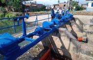 Histórico recurso para tecnificar y equipar limpia de infraestructura hidroagrícola
