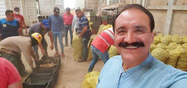 Productores de papa se solidarizan con Zamora