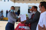Alcalde entrega nombramientos a funcionarios de Seguridad Pública