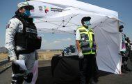 Mas de 76 mil pasajeros atendidos en 12 filtros sanitarios contra el COVID-19: SSP