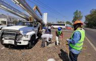 Nuevos mega postes iluminarán más cruceros y accesos de Zamora