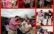 PRI ZAMORA mantiene el apoyo alimentario a sus militantes vulnerables