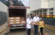 Recibe SSM donación de 30 ventiladores