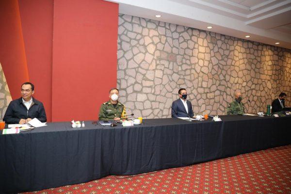 Acuerdan reforzar fronteras de Michoacán con Guerrero y Estado de México