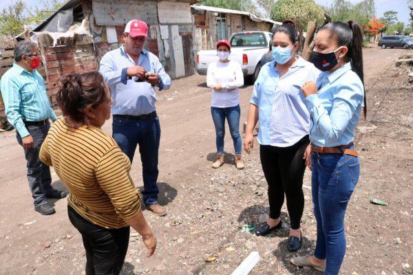 Inician labores en vivienda afectada de la colonia ferrocarril 5