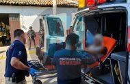 Hombre queda herido al escapar de un intento de rapto en Ario de Rayón