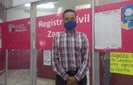 Aun sin fecha para reanudar servicio abierto a la población en Registro Civil