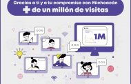 Supera el millón de visitas el micrositio sobre COVID-19