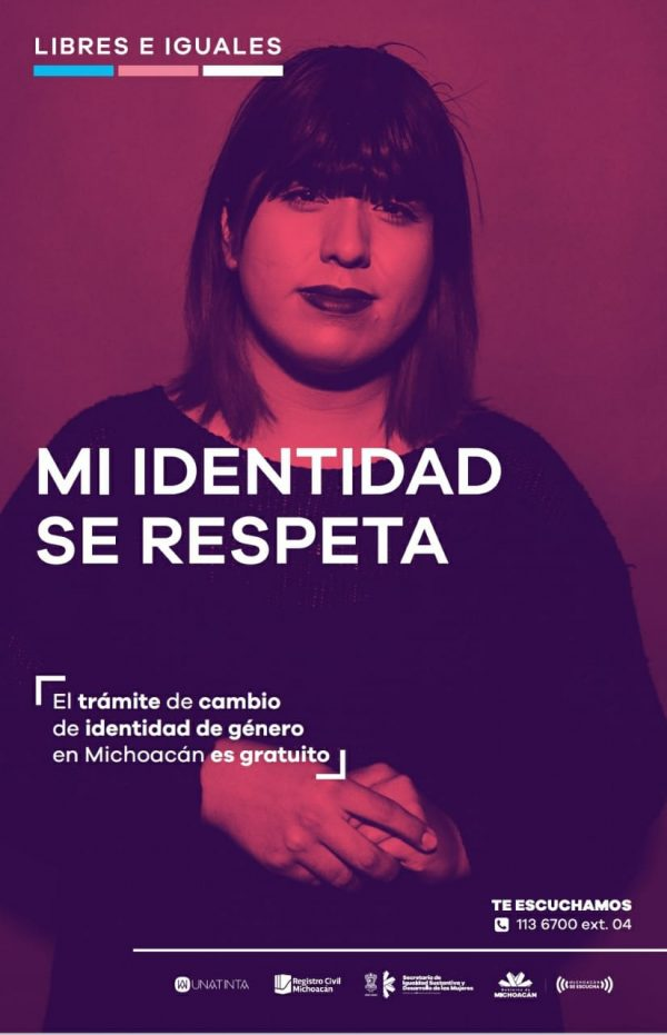 """Lanza Gobierno del Estado campaña """"Libres e Iguales"""""""