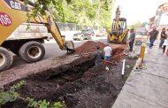 Avanza construcción en nueva línea de agua potable para Zamora