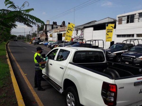 Con Bandera Amarilla, refuerza SSP medidas preventivas contra COVID-19 en Zamora