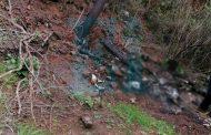 Localizan restos calcinados de 3 personas en Tangancícuaro