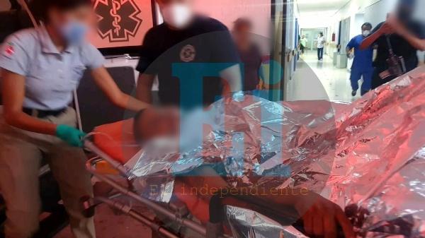 Joven sufre atentado a tiros en Jacona; esta grave