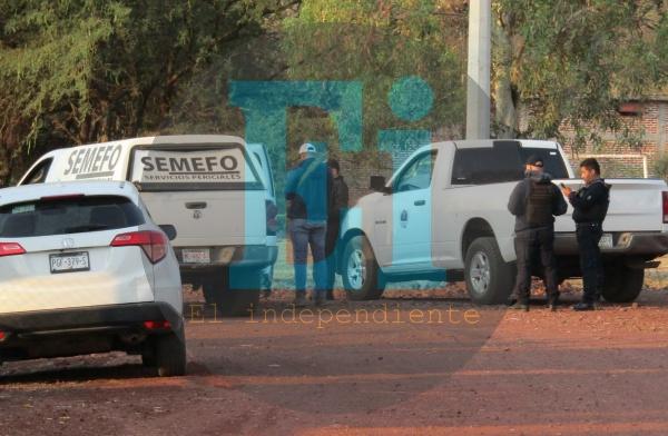 Encuentran un ejecutado en las calles de Tangancícuaro
