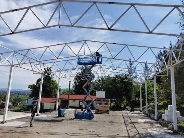 Tendrá nueva techumbre escuela de Lindavista, Zamora