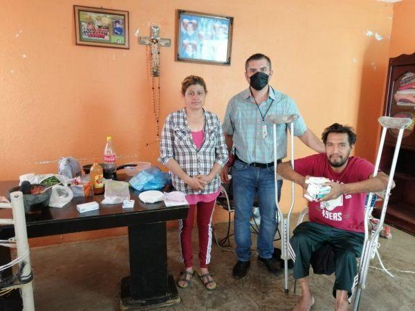 Atiende DIF Zamora a pacientes en su hogar