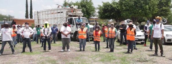Atiende Gobierno Municipal colonias y comunidades contra el Dengue