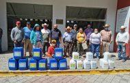 Apoyamos a productores agrícolas del municipio
