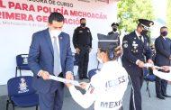 Graduada, Décimo Primera Generación de la Policía Michoacán