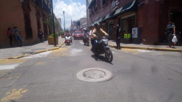 Disminución en accidentes de motos se debe a baja en movilidad urbana