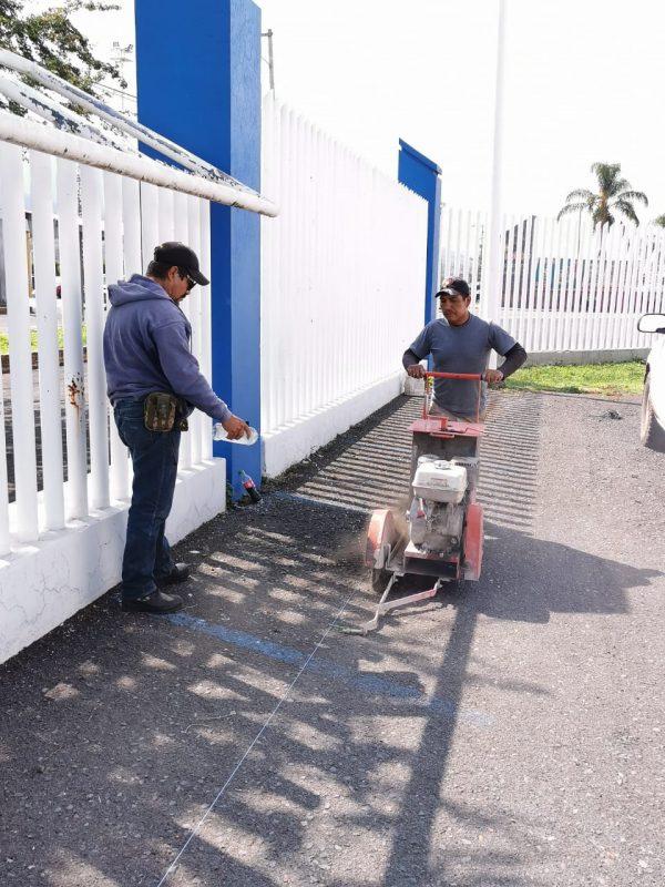 Sustituirán cableado de energía eléctrica en Dirección de Seguridad Pública