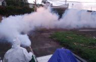 Colonias del norte de la ciudad son fumigadas