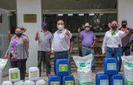Cumple Martín Samaguey con productores de 5 comunidades