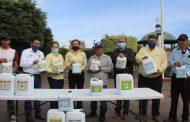 Comunidades indígenas de Tangamandapio se suman a Agricultura Sustentable