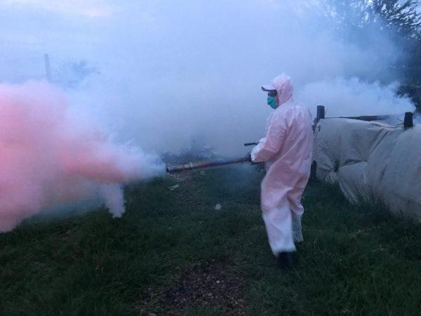 Suman vecinos de Ario esfuerzos contra el Dengue