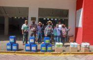 Reciben fertilizante orgánico agricultores de comunidades zamoranas