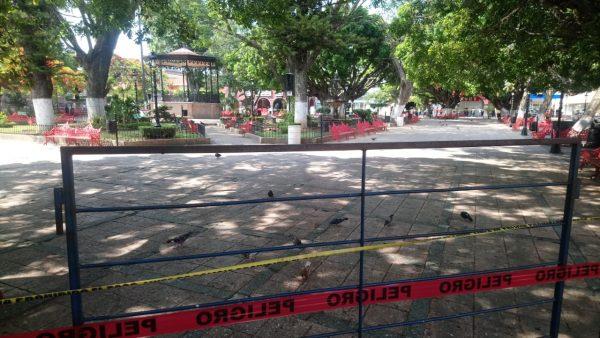 Aplazan reapertura de plazas públicas; no es sano abrirlas en tiempos de contagio por COVID