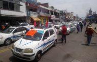 Zamoranos se molestan por cierre de 5 de Mayo de taxistas de la Cañada de los Once Pueblos