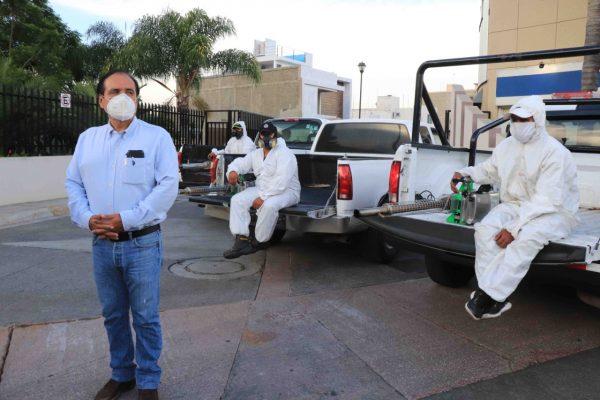 Presidente Martín Samaguey supervisa trabajos de combate al dengue