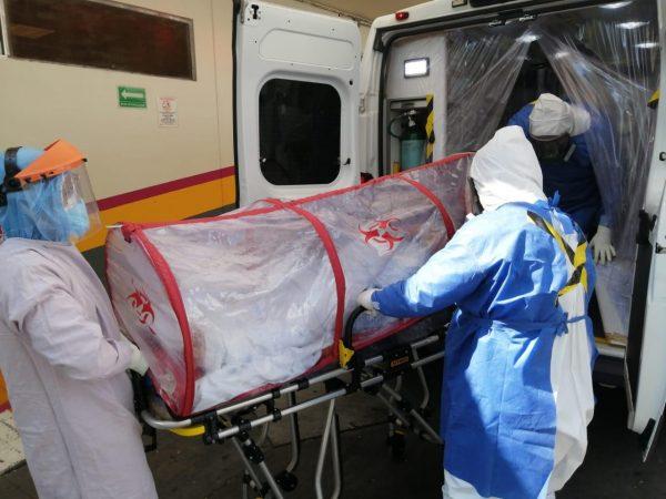 Realiza SSM traslado oportuno de pacientes sospechosos y confirmados de COVID-19