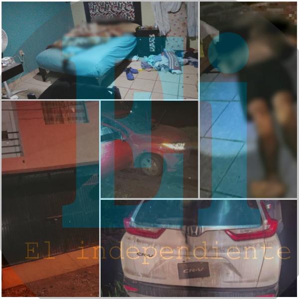 Pistoleros matan a 4 en Zamora y se enfrentan con la Policía