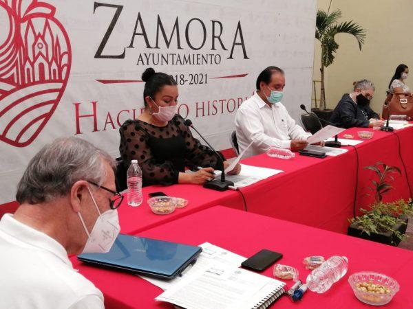 Presenta Zamora finanzas sanas y sin deuda