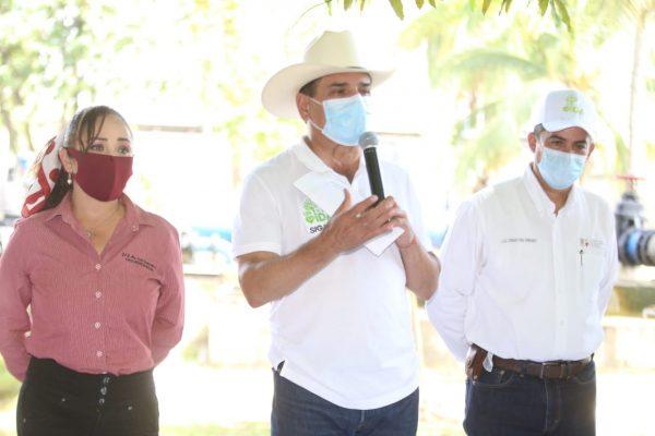 Obras de pavimentación y de agua potable, por 20 mdp para Lázaro Cardenas