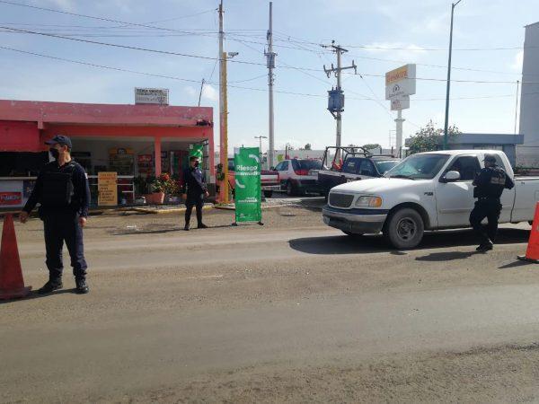 Refuerza SSP acciones contra COVID-19 en La Piedad; se mantiene con Bandera Verde