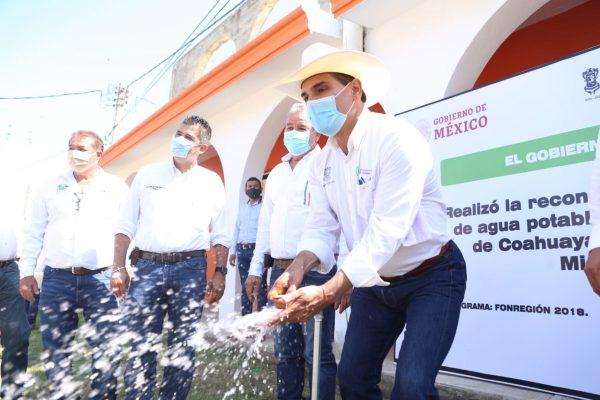 Obras hídricas por más de 69.7 mdp en Gira del Agua