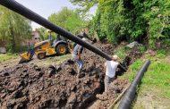 80% de avance presenta obra de drenaje en El Sauz de Abajo