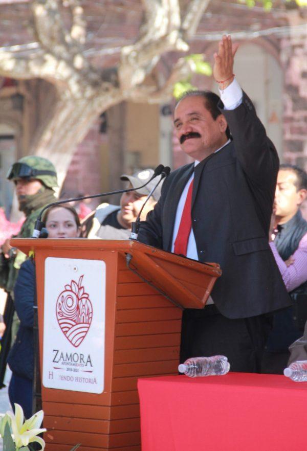 Incrementa aprobación ciudadana del alcalde Martín Samaguey