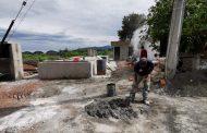 Amplían Cárcamo de rebombeo en Valle Dorado, Zamora