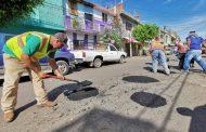 Será permanente programa de mantenimiento a vialidades en Zamora
