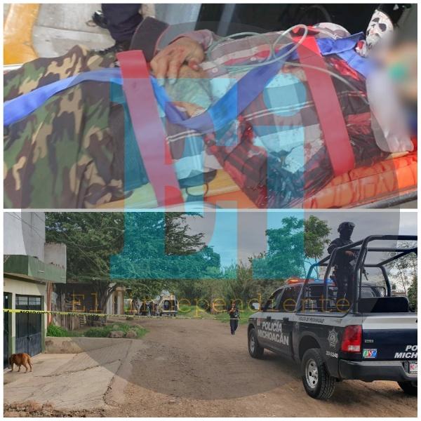 Joven muere al ingresar a un hospital, tras ser baleado en Zamora