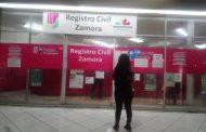 Población inconforme con hacer cita telefónica para ir al Registro Civil de Zamora