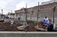 Avanzan trabajos en Plazoleta Luis Hernández
