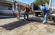 Brindan mantenimiento a vialidades de Zamora